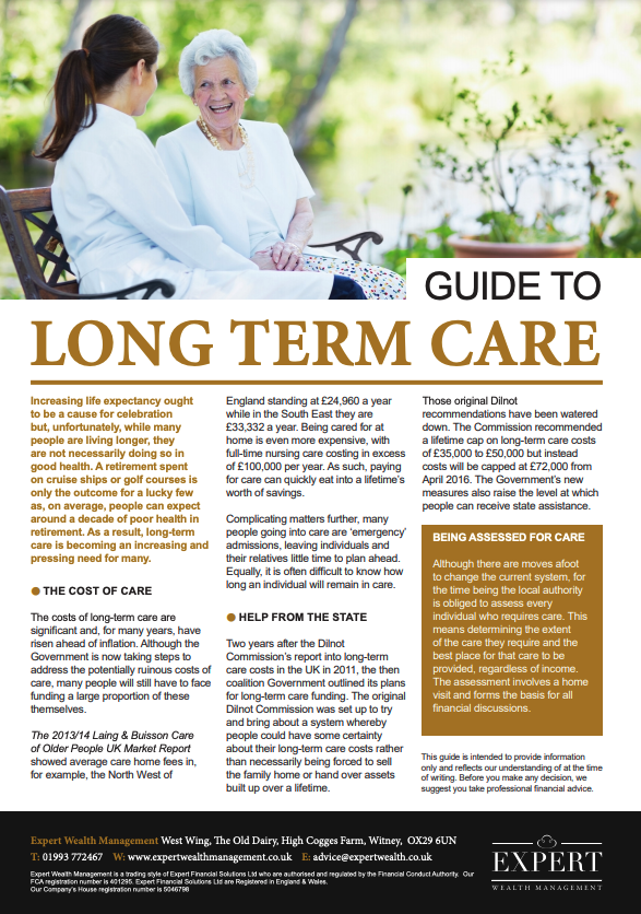 Guide To Long Term Care