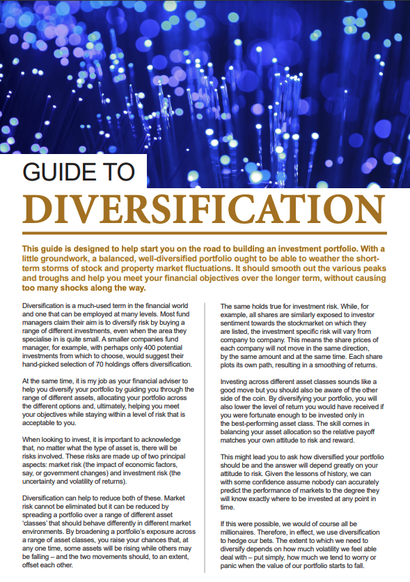 Guide To Investment Diversification